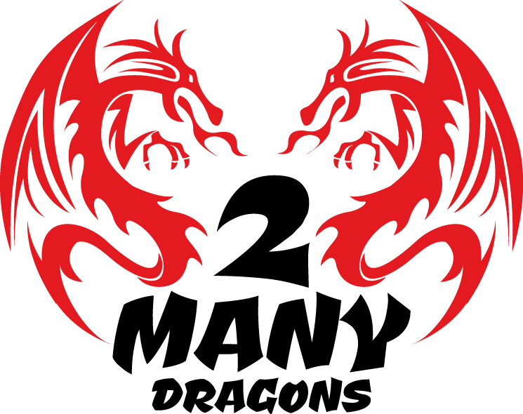 2 Many Dragons LOGO
